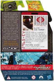 G.I.Joe Rise of Cobra Arctic Threat Elite Ice-Viper - Surveillance Port (2)