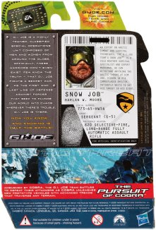 G.I.Joe Rise of Cobra Arctic Threat Snow Job - Surveillance Port (2)