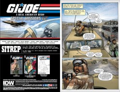 IDW GI Joe ARAH 253 Page 1 - Surveillance Port