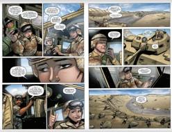 IDW GI Joe ARAH 253 Page 2-3 - Surveillance Port