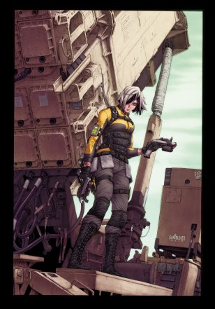 IDW Publishing G.I.Joe A Real American Hero Silent Option #1 Incentive Cover - Surveillance Port