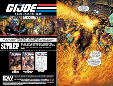 IDW Publishing GI Joe ARAH 254 01 - Surveillance Port