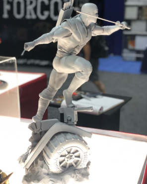 PCS Toys Cobra Storm Shadow Statue - Surveillance Port (2)
