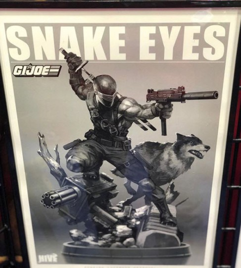 PCS Toys Snake Eyes - Surveillance Port