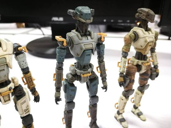 Planet Green Valley Security Force military robots E.S.F-M75 - Surveillance Port (1)