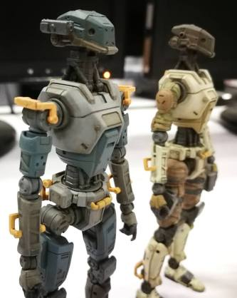 Planet Green Valley Security Force military robots E.S.F-M75 - Surveillance Port (2)