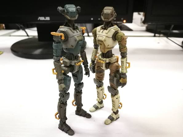 Planet Green Valley Security Force military robots E.S.F-M75 - Surveillance Port (3)