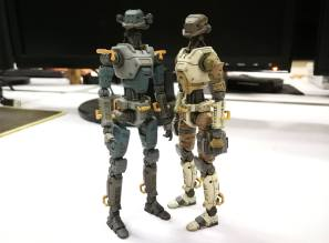 Planet Green Valley Security Force military robots E.S.F-M75 - Surveillance Port (4)