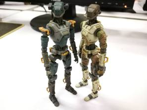 Planet Green Valley Security Force military robots E.S.F-M75 - Surveillance Port (5)