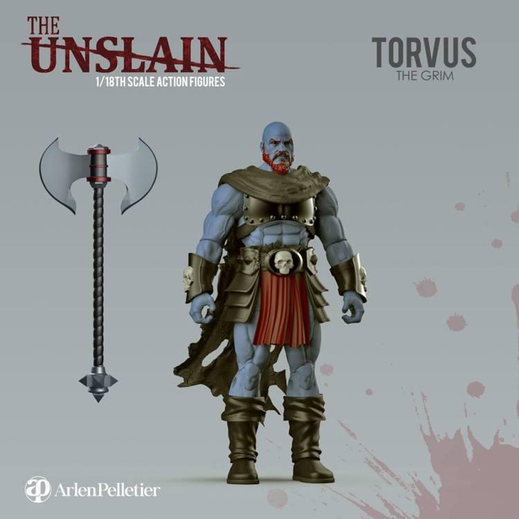 The Unslain Torvus the Grim Reveal - Surveillance Port