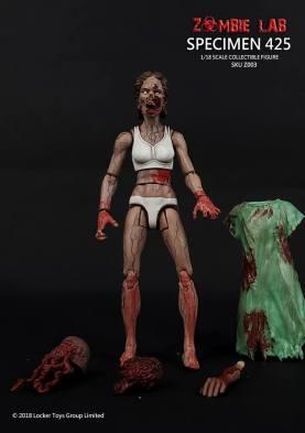Zombie Lab Specimen 425 Paint Master - Surveillance Port