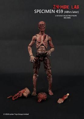 Zombie Lab Specimen 459 Paint Master - Surveillance Port