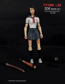 Zombie Lab Zoe Battle Version Paint Master - Surveillance Port