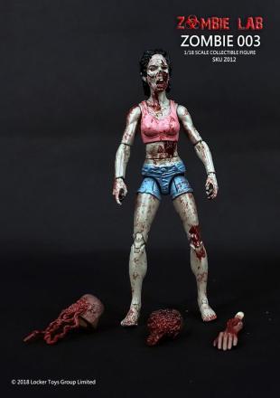 Zombie Lab Zombie 003 Paint Master - Surveillance Port
