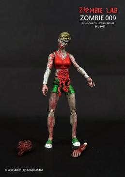 Zombie Lab Zombie 009 Paint Master - Surveillance Port