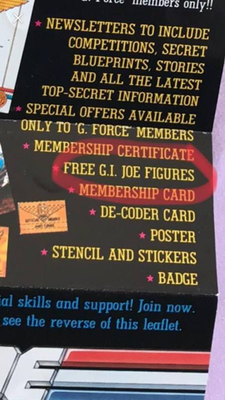 Action Force G Force Fan Club 10 - Surveillance Port
