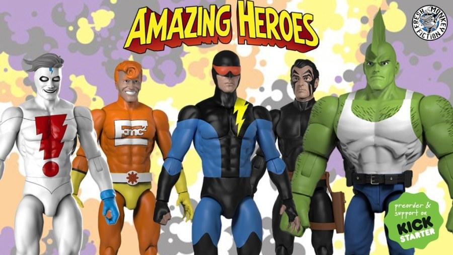 Amazing Heroes Kickstarter Banner - Surveillance Port