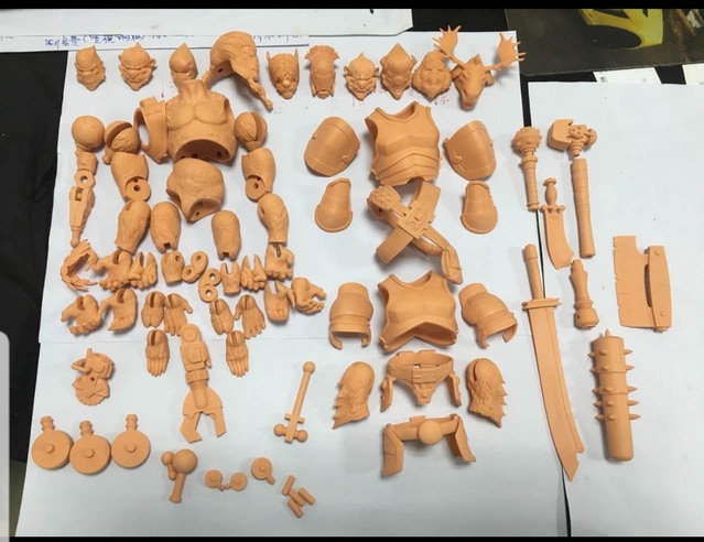 Animal Warriors of the Kingdom 3D Printed Parts - Surveillance Port