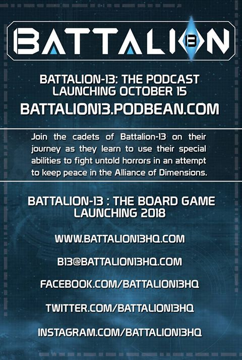 Battlion13 Podcast Infographic - Surveillance Port