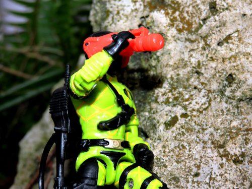 Black Major Toys Custom Python Patrol Night Viper - Surveillance Port (01)