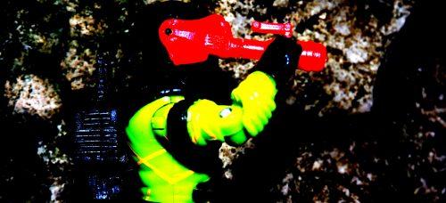 Black Major Toys Custom Python Patrol Night Viper - Surveillance Port (03)