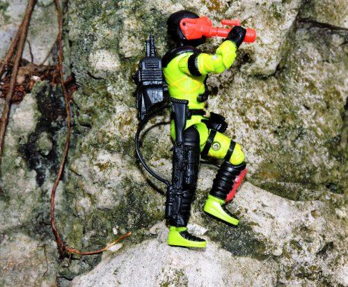 Black Major Toys Custom Python Patrol Night Viper - Surveillance Port (04)