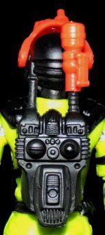 Black Major Toys Custom Python Patrol Night Viper - Surveillance Port (05)