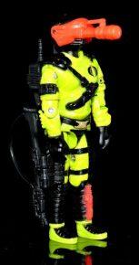 Black Major Toys Custom Python Patrol Night Viper - Surveillance Port (09)