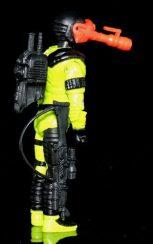 Black Major Toys Custom Python Patrol Night Viper - Surveillance Port (10)