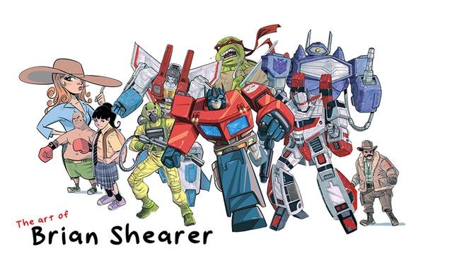 Brian Shearer Banner - Surveillance Port