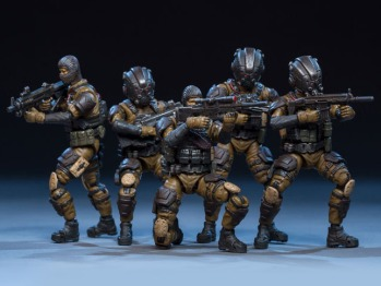 Dark Source Soldier Series Tiger Tracker 124 Scale Figure Set 01 - Surveillance Port