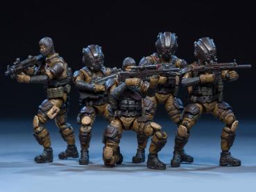 Dark Source Soldier Series Tiger Tracker 124 Scale Figure Set 01 - Surveillance Port
