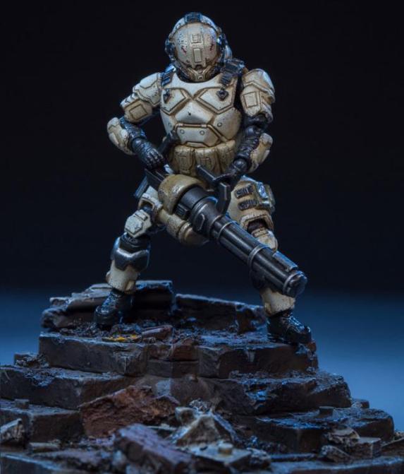 Dark Source Soldier Series TPA PMC-Fire 124 Scale Figure 03 - Surveillance Port