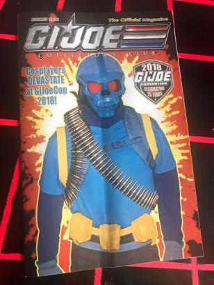 G.I.Joe Collectors Club August 2018 Magazine - Surveillance Port (1)
