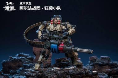 Joy Toy Dark Source 124scale Exo Suit Official Images 09 - Surveillance Port