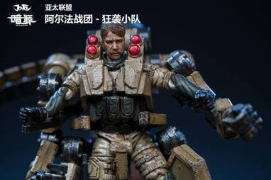 Joy Toy Dark Source 124scale Exo Suit Official Images 11 - Surveillance Port