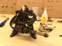 Joy Toy Dark Source 125th scale Prototype Exo Suit 01 - Surveillance Port