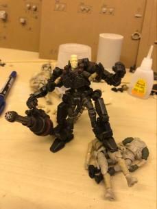 Joy Toy Dark Source 125th scale Prototype Exo Suit 05 - Surveillance Port