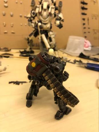 Joy Toy Dark Source 125th scale Prototype Exo Suit 07 - Surveillance Port