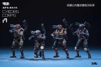 Joy Toy Dark Source 1_24 Cyborg Corps 01 - Surveillance Port
