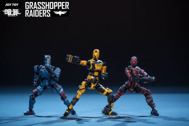 Joy Toy Dark Source 1_24 Grasshopper Raiders 01 - Surveillance Port
