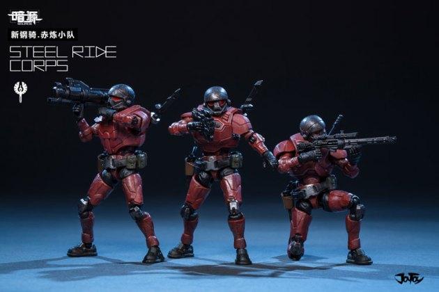 Joy Toy Dark Source 1_24 Steel Ride corps 01 - Surveillance Port