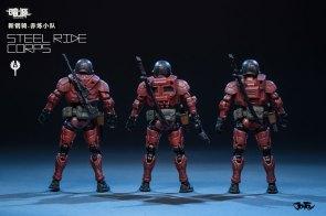 Joy Toy Dark Source 1_24 Steel Ride corps 02 - Surveillance Port