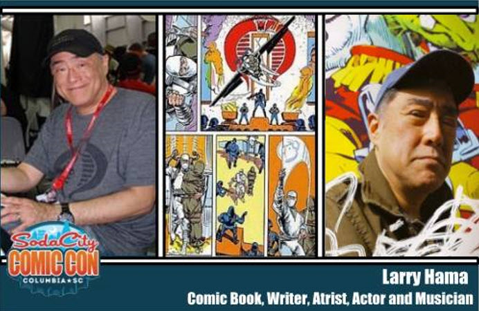 Larry Hama Soda City Comic Con - Surveillance Port