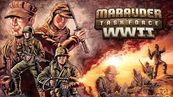 Marauder Gun Runners Marauder Task Force WWII Banner - Surveillance Port