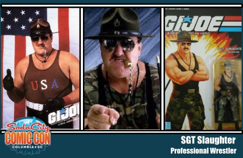 Sgt Slaughter Soda City Comic Con - Surveillance Port