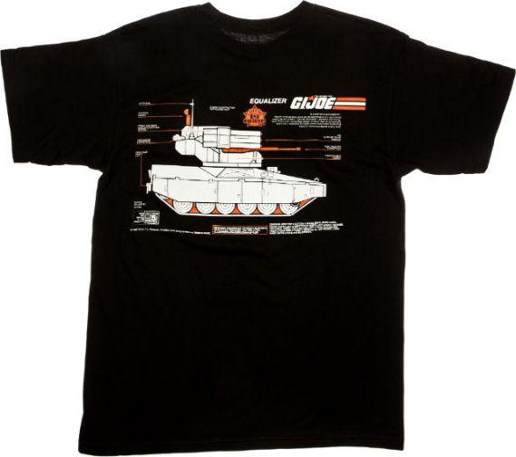 Shoe Palace G.I.Joe Equalizer Tee Black 02 - Surveillance Port