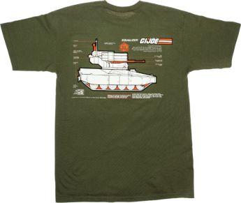 Shoe Palace G.I.Joe Equalizer Tee Green 02 - Surveillance Port