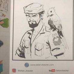 The Art of Brian Shearer Vol 1 - Surveillance Port (3)
