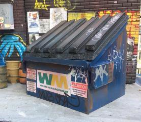Upful Creations 118scale Dumpster 02 - Surveillance Port
